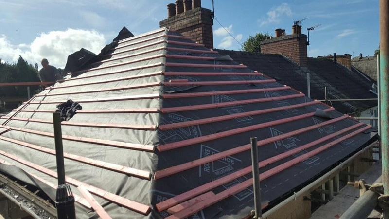 Slate Roofs Roofers In Wolverhampton